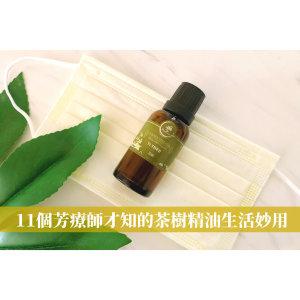 3分鐘告訴你茶樹精油有多好用!11個芳療師才知的生活妙用