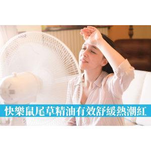 更年期盜汗用什麼精油?日本研究發現「快樂鼠尾草精油」有效舒緩熱潮紅
